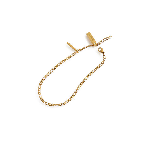 FIONA Chain Anklet in Gold