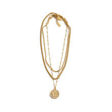 Load image into Gallery viewer, Gold Layering Necklaces by Estrela