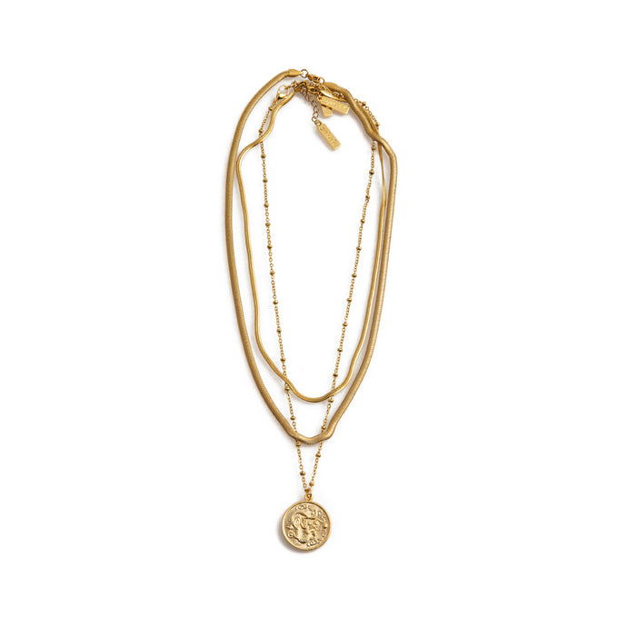 Gold Layering Necklaces by Estrela