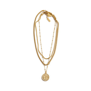 CHAIN Necklace Small Gold