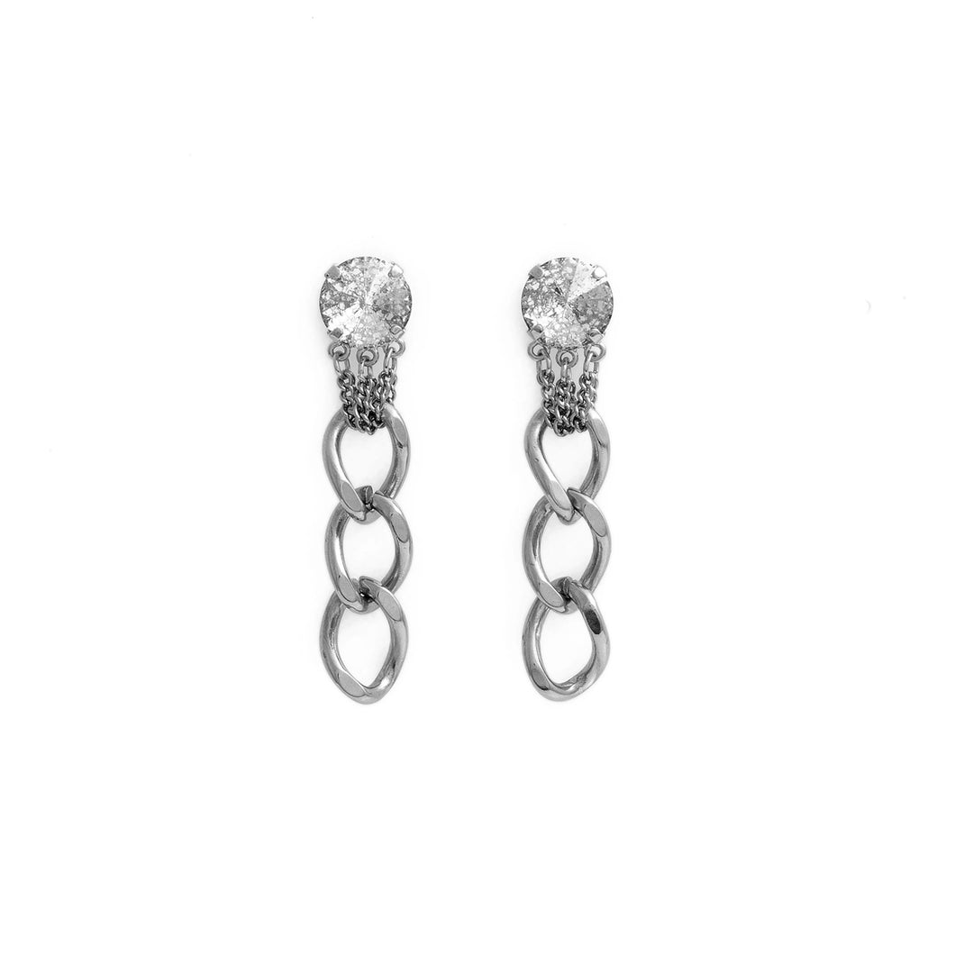 LAUREN Earrings Silver