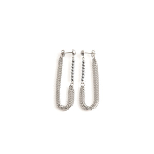 NAVIGLI earrings stainless steel edgy