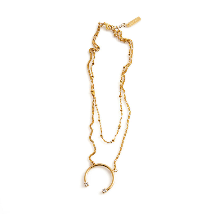 Multi-layer Gold Necklace by ESTRELA