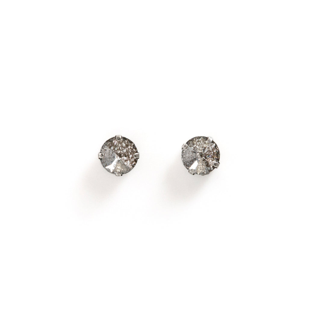 Swarovski crystal stud earrings 12mm
