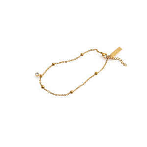 SANDY Chain Anklet Gold