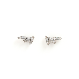 WING Crystal Stud Earrings