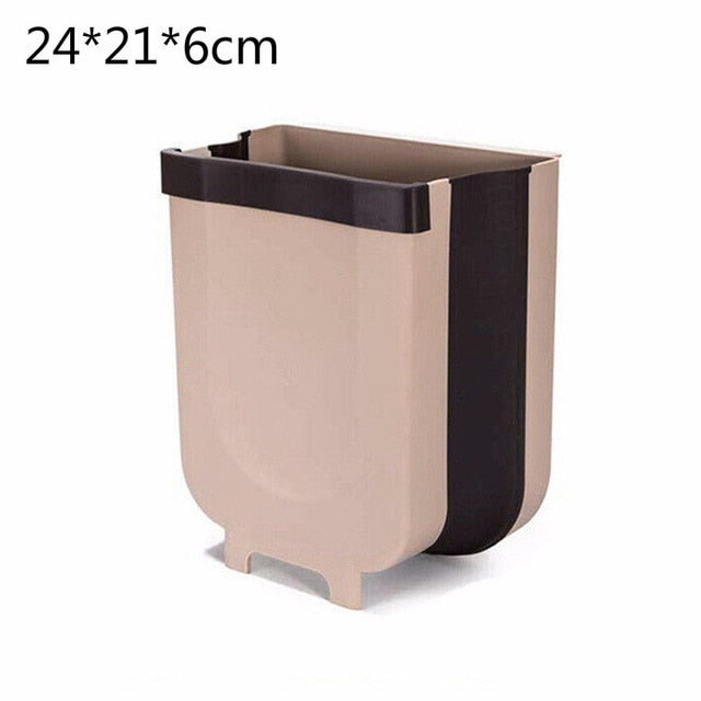 Mounted Folding Trash Can