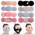 Load image into Gallery viewer, New 2 in 1 Women Warm Mask Earmuffs
