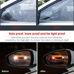 Load image into Gallery viewer, 2/4pcs Anti Rain & Fog Car Mirror Films Waterproof