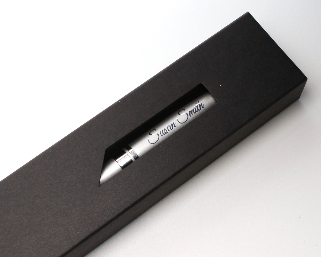 Personalised Premium Metal Ballpoint Pen + Gift Box