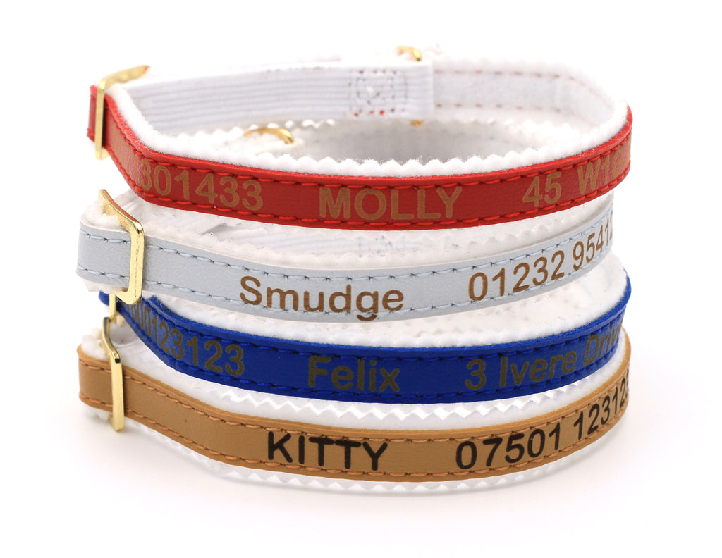 Personalised Custom Cat Kitten Collar