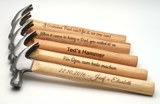 Personalised Engraved Hammer + optional Gift Box