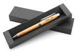 Personalised Bamboo Wooden Ballpoint Eco Pen + Gift Box