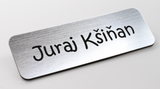 Personalised Premium Name Badge Staff ID Tag With Pin