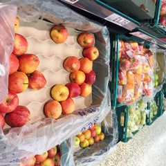 Plastic Free Apples In Tesco