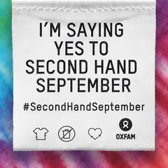 Oxfam's Second Hand September Pledge
