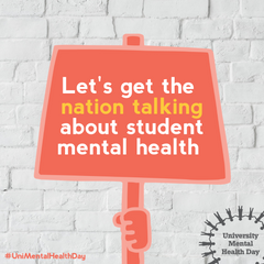 Let's get the nation talking about student mental health