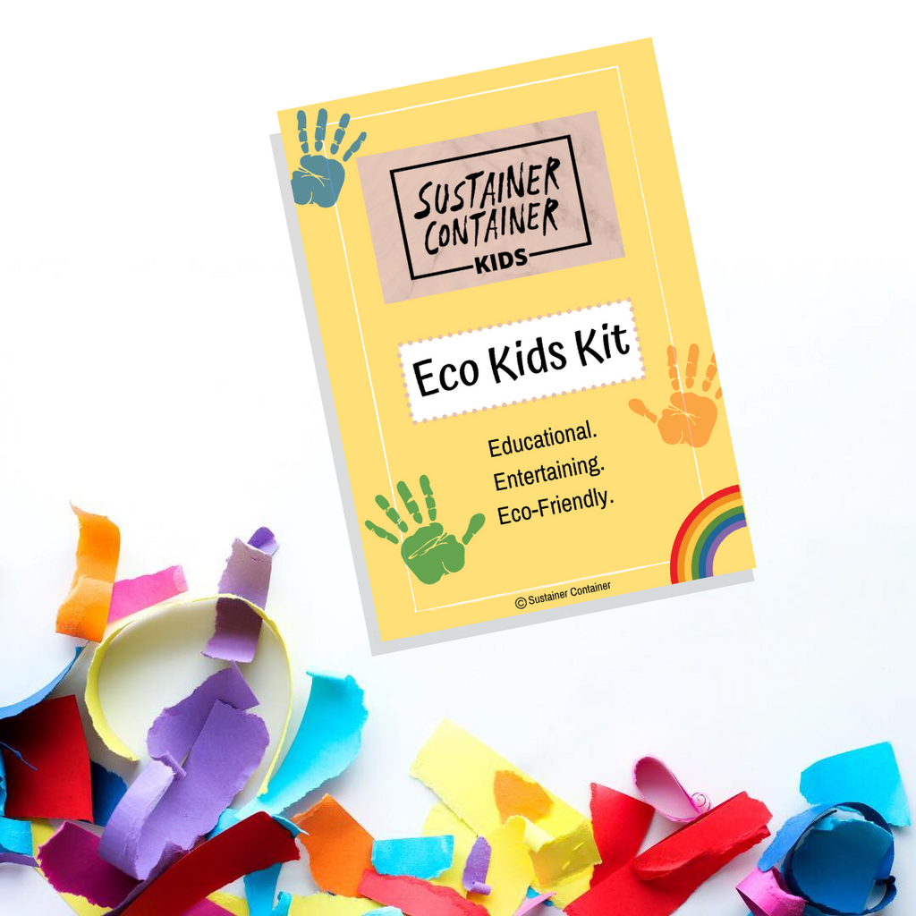 Eco Kids Activity Kits - Sustainer Container