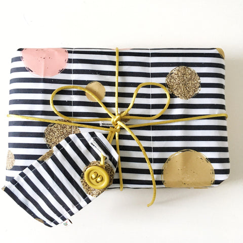 Earth Friendly Reusable Wrapping Paper