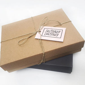 Eco Essentials Gift Box - Sustainer Container