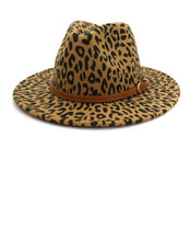 Load image into Gallery viewer, Leopard Felt Hat