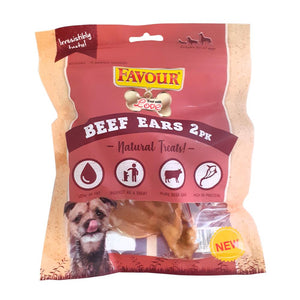 Favour Beef Ears 2 Pack