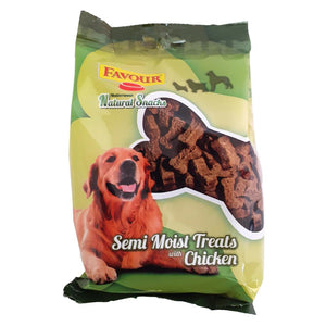 Favour Semi Moist Treats with Chicken