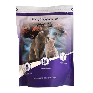 Dr Jaynes Complete Cat Food Pouch 500g