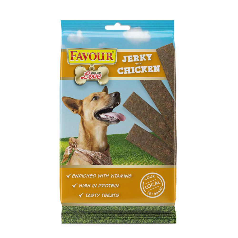 Favour Chicken Jerky Strips