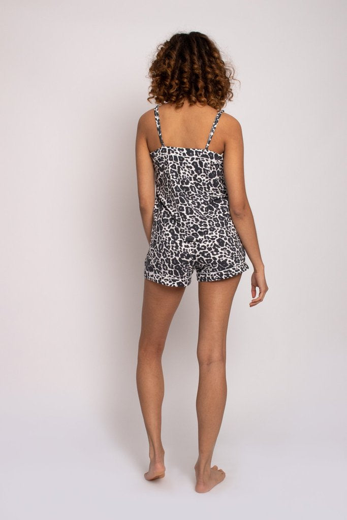 Womens Bamboo Cami Short Pyjama Set