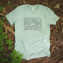 Load image into Gallery viewer, Teal Wild Grit Logo Tee