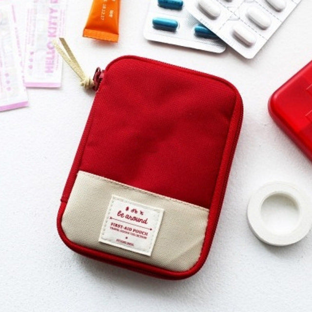 Camping First Aid Kit Pouch