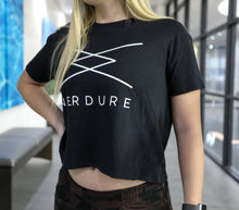 Load image into Gallery viewer, Ladies Headliner Cropped Tee