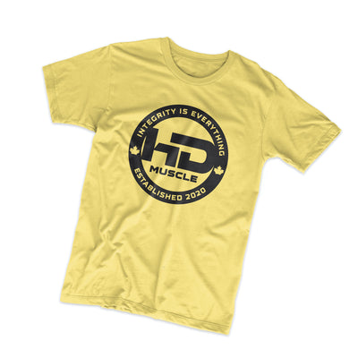 HD Muscle T Shirt, Yellow - HD Muscle EU