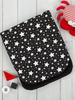Cuddle Co Comfi-Cush Stroller Liner Black & White Stars