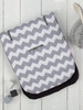 Cuddle Co Comfi-Cush Stroller Liner Grey Zig Zag