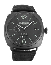 Load image into Gallery viewer, PANERAI RADIOMIR AUTOMATIC PAM00384 BLACK BATON DIAL