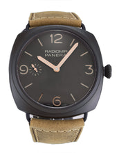 Load image into Gallery viewer, PANERAI RADIOMIR AUTOMATIC PAM00504 BROWN QUARTER ARABIC DIAL