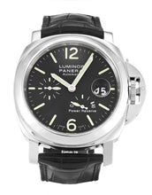 Load image into Gallery viewer, PANERAI LUMINOR POWER RESERVE PAM00090 BLACK BATON DIAL AUTOMATIC