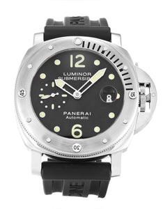 PANERAI LUMINOR SUBMERSIBLE PAM00024 BLACK BATON DIAL AUTOMATIC