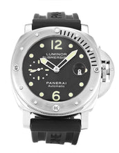 Load image into Gallery viewer, PANERAI LUMINOR SUBMERSIBLE PAM00024 BLACK BATON DIAL AUTOMATIC