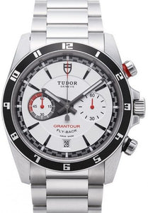 Replica Tudor Grantour Chrono Fly Back White Dial Steel Strap Mens Watch 20550N-95730white