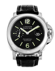 AUTOMATIC BLACK PANERAI LUMINOR MARINA PAM00104