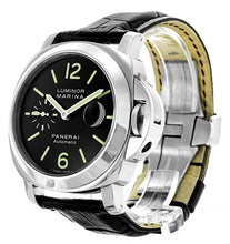 Load image into Gallery viewer, AUTOMATIC BLACK PANERAI LUMINOR MARINA PAM00104
