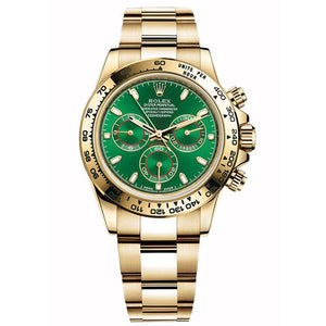 AUTOMATIC ROLEX DAYTONA 116508 REPLICA GREEN/black - Top Watches