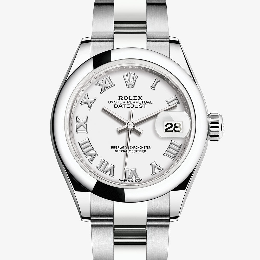 Mappin & Webb Rolex Lady-Datejust Oyster, 28 mm, Oystersteel M279160-0016 - Top Watches
