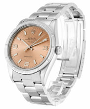 Load image into Gallery viewer, ROLEX AIR-KING SALMON QUARTER ARABIC DIAL STAINLESS STEEL MENS 14010M