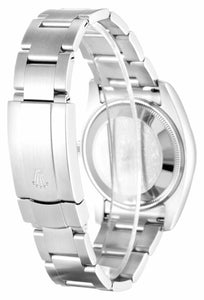 ROLEX AIR-KING WHITE QUARTER ARABIC DIAL STAINLESS STEEL MENS 114200 - Top Watches