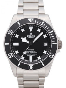 Replica Tudor Pelagos Black Dial Titanium Strap Mens Watch 25600TN