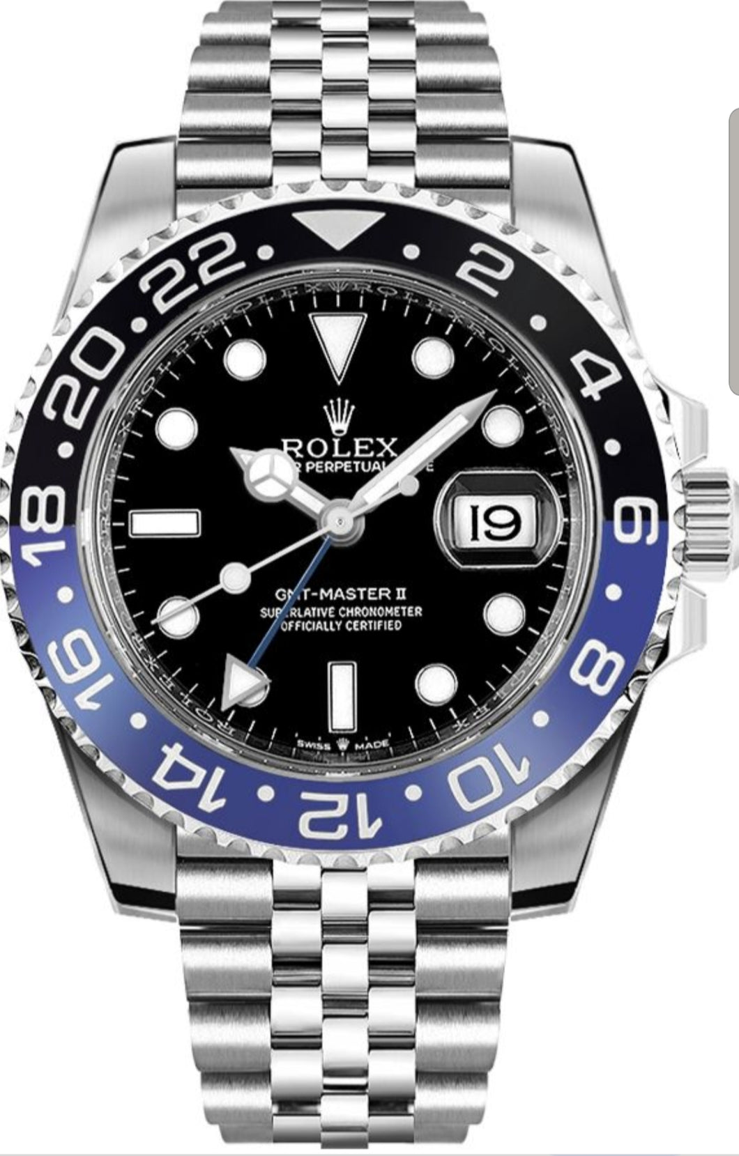 AUTOMATIC ROLEX DEEPSEA 116660 batman